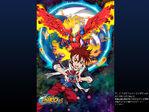 B-Daman Fireblast-Kamon & Garuburn - Poster