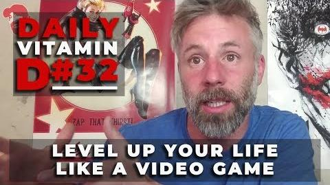 Daily Vitamin D 32 Level Up Your Life Like A Video Game