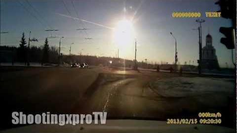Increíble meteorito cae sobre Rusia 15 02 2013