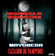 Mayonesa cazador de vampiros
