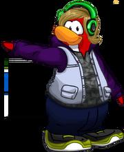 Pinguino de Fedd solo