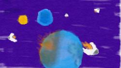 Apocalipsis del Planeta Cabrez Acuarela