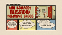 The Loudest Mission Relative Chaos