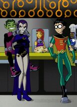 Teen Titans 00 by Drakyx