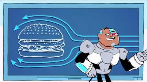 Teen Titans Go! Mission To Misbehave - TheHamburger