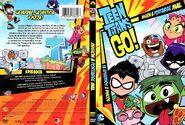 Los Jóvenes Titanes en Acción en DVD