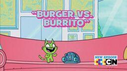 Burger vs Burrito Carta