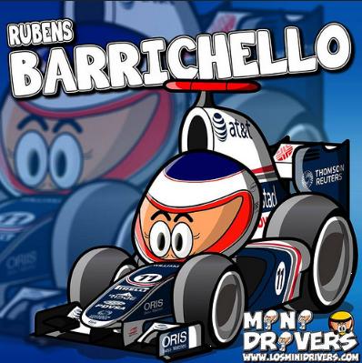 Rubens Barichello | Los MiniDrivers Wiki | FANDOM powered by Wikia