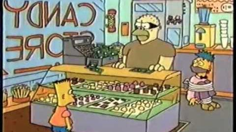 Simpsons Shorts-MG34 Bart the Hero (FROM ORIGINAL AIRING ON FOX)