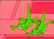 Chirpy Boy and Bart Junior