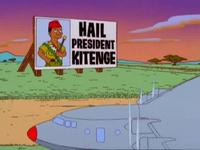 Kitenge presidente