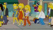 Futuro si Bart tiene otra hermana