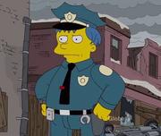 Ralph como policía