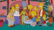 Familia Simpson en el futuro