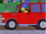 "Marge Simpson in: ""Screaming Yellow Honkers"""
