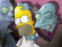 Homero zombies