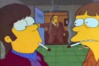 Homer fumando