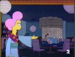 Dianne Tanaka en los Simpson