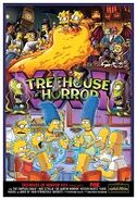 Treehouse of Horror XXV promo poster