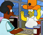 Homer and Apu