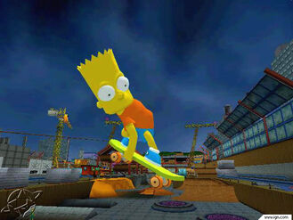 Simpsons skate 0613 03