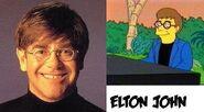 Elton john=simpson
