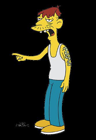 Cletus spuckler simpson wiki en espa ol fandom powered - Tout les personnage des simpson ...