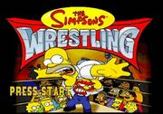 The-Simpsons-Wrestling-1