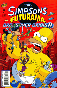 The Simpsons Futurama Crossover Crisis II 2