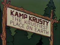 Kamp Krusty Entrada