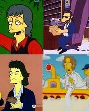 Beatles Simpsons