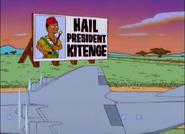 Kitenge president