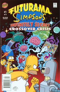 Futurama Simpsons Infinitely Secret Crossover Crisis 1