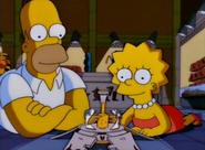 EP202 Homero y Lisa en el museo
