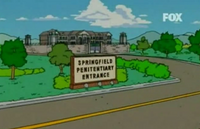 Entrada a Springfield Penitentiary