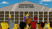Springfield Wall of Fame Ceremony