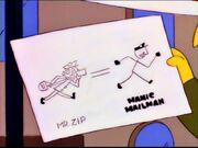 Mr. Zip - Manic Mailman