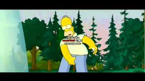 Homer va a demostrar que tiene cojones!