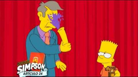 Los Simpson Artículo 4 Canal Fox