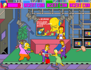 Simpsons arcade screenshot
