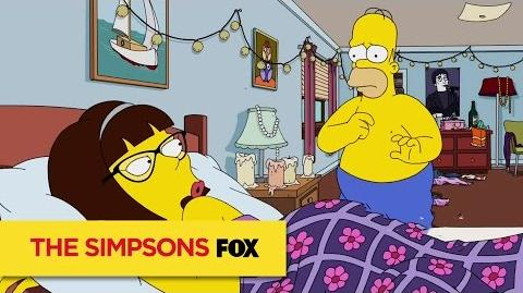 THE SIMPSONS Stretch Marks ANIMATION on FOX