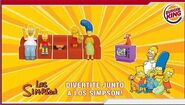 Cajita Burger Enero 2009 Simpsons1