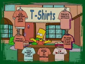 Bart-shirts