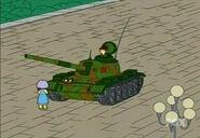 Los Simpsons Tiananmen