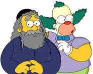 Krusty y su padre