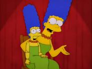 Marge contando el chiste