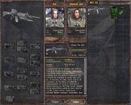 Sniper TRs 301 - upgrade tree (Lost Alpha DC v1.4002)