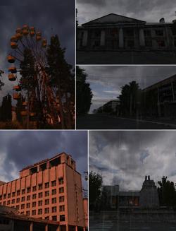 Location pripyat mix