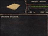 Transport invoices