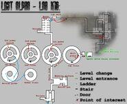 LA X16 mapped